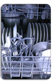 Gépi mosogatás konyha