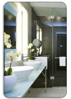 Szálloda fürdőszoba